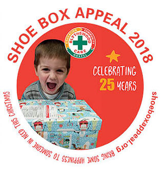 Blythswood Shoebox Appeal 2018