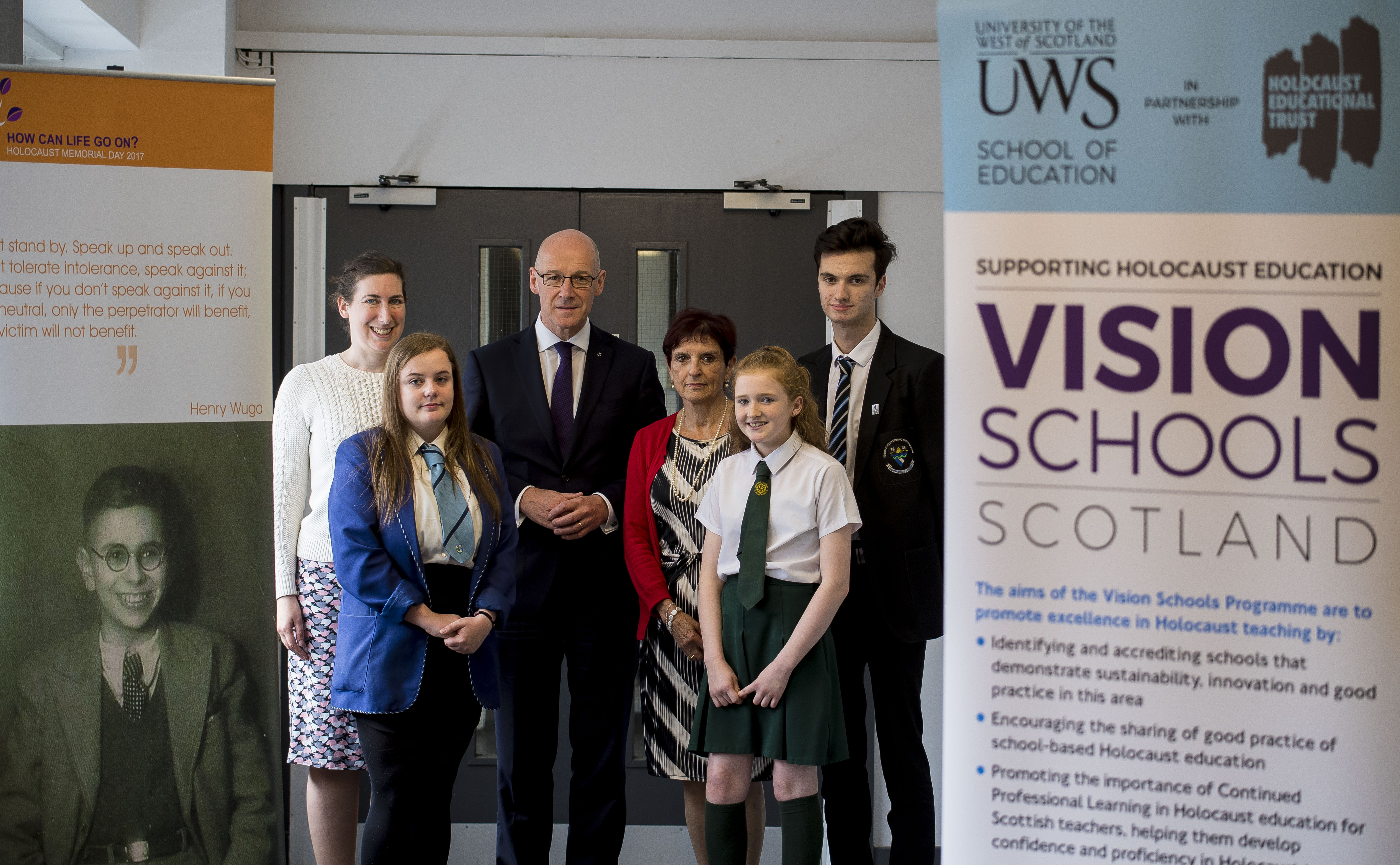 Grove Academy Pioneers Commitment to Holocaust Education in Scotland