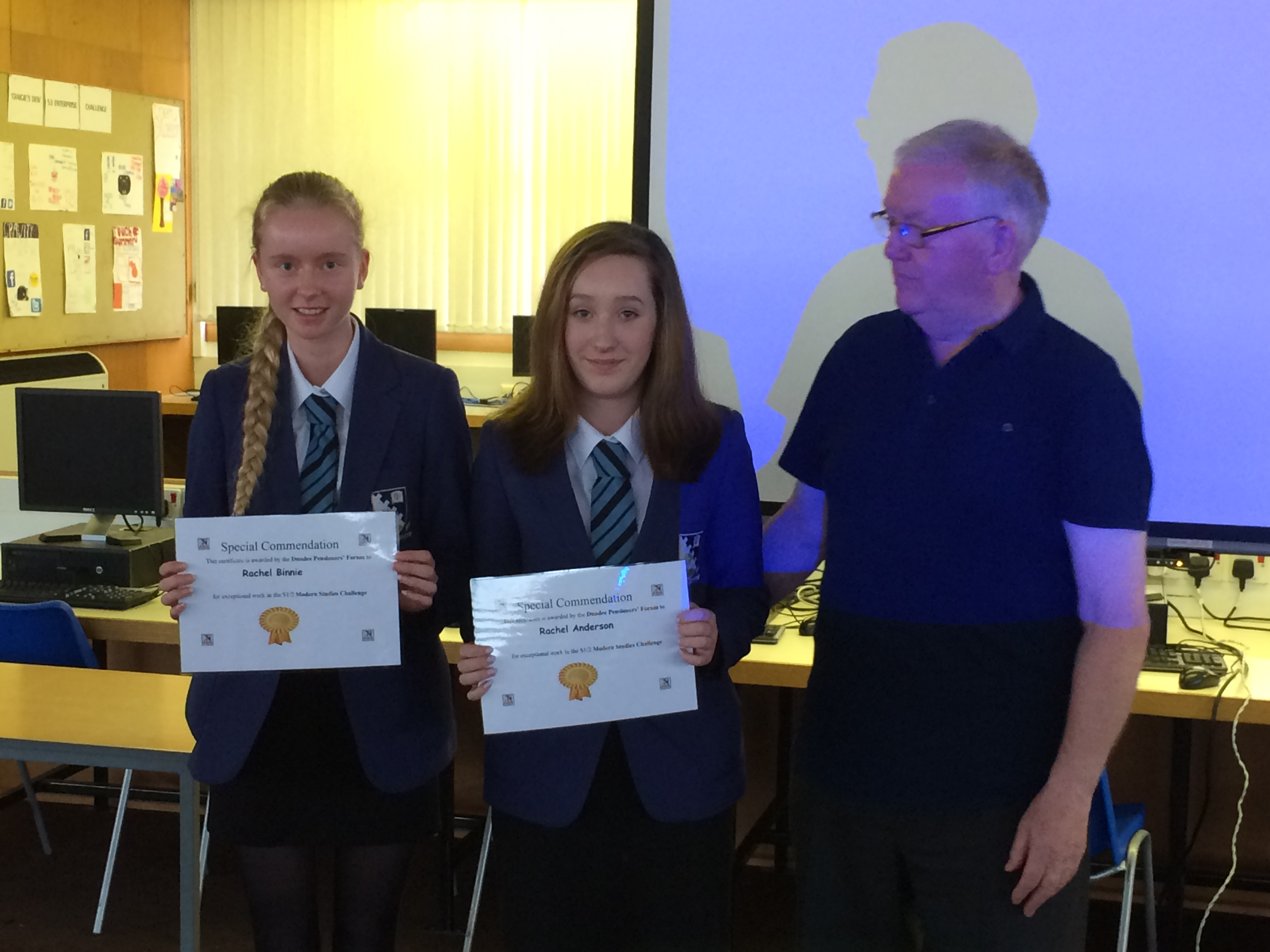 Grove Pupils Win Pensioners Challenge Prize