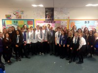 Local Councillor Visits S4