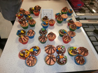 Bonfire Night Cupcakes