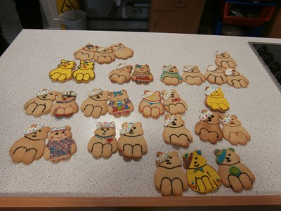 Children in Need Cookies